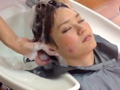 Japanese Salon Shampoo and Head Massage (part 1 of 2)