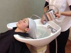 Japanese Salon Shampoo and Head Massage (part 2 of 2)