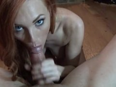 JennyBlighe - Breakup BJ: Huge Facial!