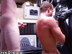 Gay porn trucker hunk Dungeon sir with a gimp