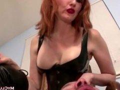 Mistress Kendra James - Smoking & Spit Human Ashtray Slave Boy