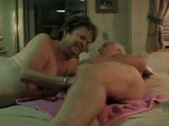 Hot older couple enjoy