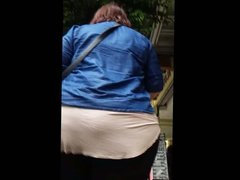 Woman with Huge Ass