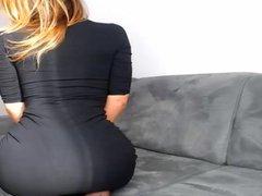 Horny Babes want Cum on Tight Dress Upskirt