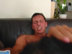 Sperm Swap Two brunettes in sexy threesome rock the cock