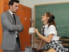 student fucking big cock teacher