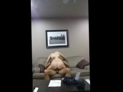Amateur cheating 18 year old wife fucked in a hotel