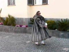 Sexy Silver Fox Coat