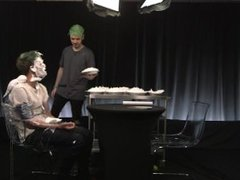 PEWDIEPIE CREAM PIED AFTER PLAYING NAUGHTY GAME