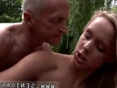 Mom and dad fuck daughter anal Naked on a bridge in a public park for