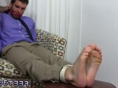 Anal gay sex golf ball Chase LaChance Tied Up, Gagged & Foot Worshiped
