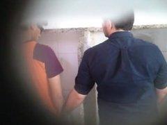 Boquete no banheiro