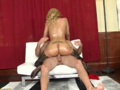 Paris: Big Tits Latina Gets Oiled And Titty Fucked