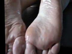Cum on Sleepy feet