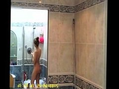 Teen Slut showering