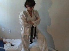 Goddess Megan Karate