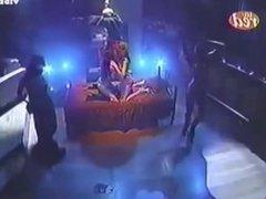 Beautiful striptease show