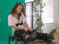Shelly Dare tickled