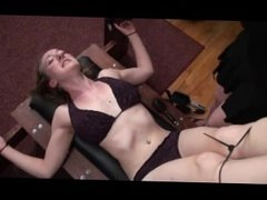 Tall Sarah Stripped and Pillared - Tickle Intensive Tickling
