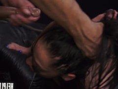 Stefania Mafra is Ditched & Must Endure Rope Bondage, Deepthroat BJ