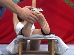 Tickle Challenge - Violetta - Foot Tickle Challenge