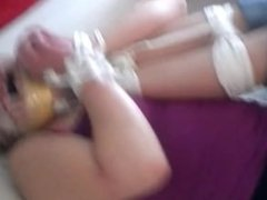 shauna and whitney feet to face tied