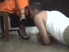 goddess shoe worship