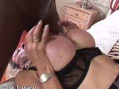 uk wife Lady Sonia in another black cuckold rough fuck