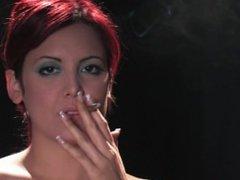 Redhead smoking so fucking sexy