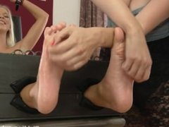 Tickling-Submission - Karol is foot tickled and oiled.mp4 1.12 GB Upload in