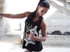 Alexa Orban Fitness Model Outdoor Photoshooting