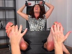 Tickling-Submission - Oiled extra tickled feet