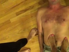 trampling by 2 girls