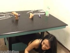 asian foot tickling