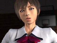 Umemaro 3D - (The First Volume)- Vampire vs KungFu Girl