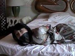 yukata girl in bondage