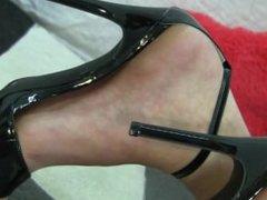 Beautiful Feet in High Heels