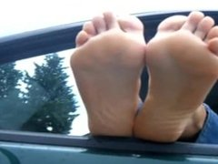 soles in the car