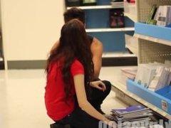 Kissing Prank - Target Employees