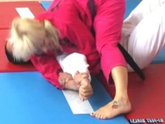 Monica vs Xana bjj fight