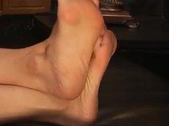 Sexy heels and sweaty feet