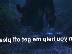 T-Rex Foot Squish (Foot Slave)