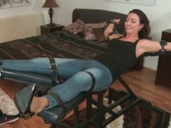 Tickling Submission - First foot tickling Daniela