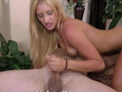 Addison Ryder rides cock and gets a big facial