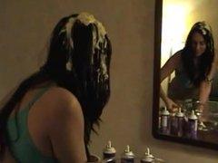 Lacy Loves A Sloppy Hair Treatment