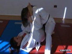 Ina Black vs Ariel X bjj feet match