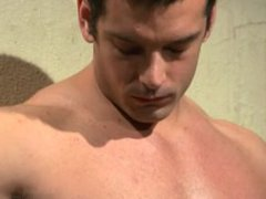 Bodybuilder Marcus Ruhl Tormented and Challenged To Cum - Scene 1