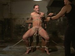Straight Stud Andrew Fitch Faces The Torment Of His Life - Scene 1