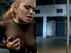 Adorable New Girl is Built For Punishment and Hot Lesbian BDSM - Scene 1
