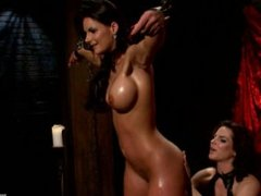 Phoenix Maries Ass Whipped Spanked and Stretched By Bobbi Starr - Scene 1